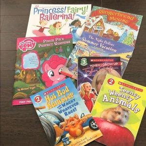 Bundle of 7 Scholastic Children's Book